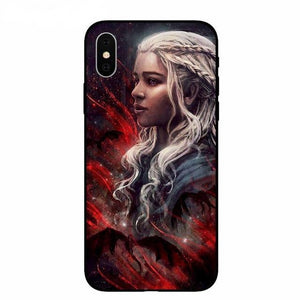 Coque iPhone Game of Thrones Daenerys Mère des Dragons