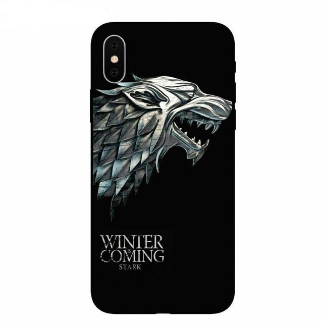 Coque iPhone Game of Thrones Loup Stark