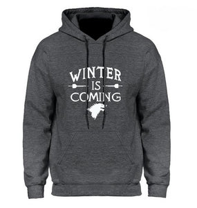 Sweat Game of Thrones Winter is Coming Gris