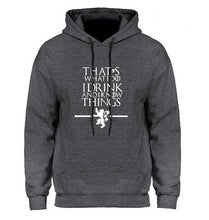 Charger l'image dans la galerie, Sweat Game of Thrones I Drink And i Know Things Tyrion
