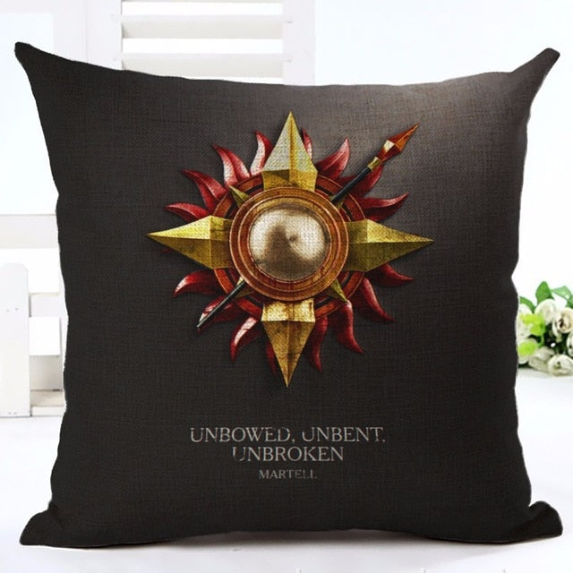 Coussin Game of Thrones Maison Martell
