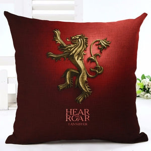 Coussin Game of Thrones Maison Lannister