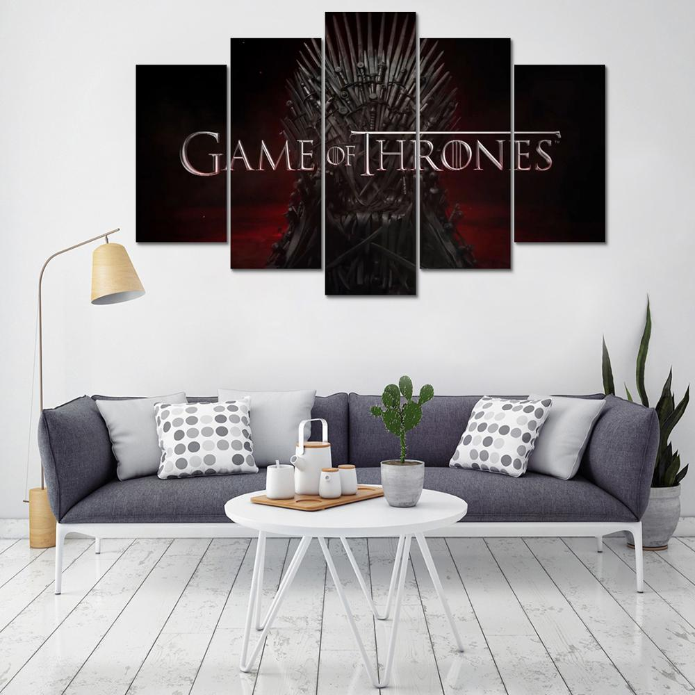 Tableaux Game of Thrones : Trône de Fer