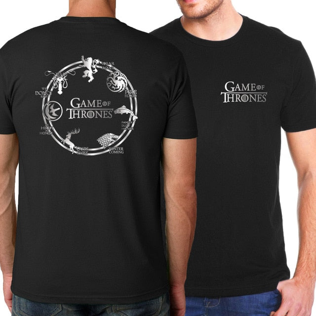 T-Shirt Game of Thrones : Royaume des 7 Couronnes
