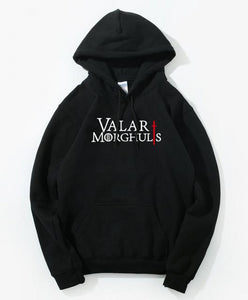 Sweat Game of Thrones Valar Morghulis Noir