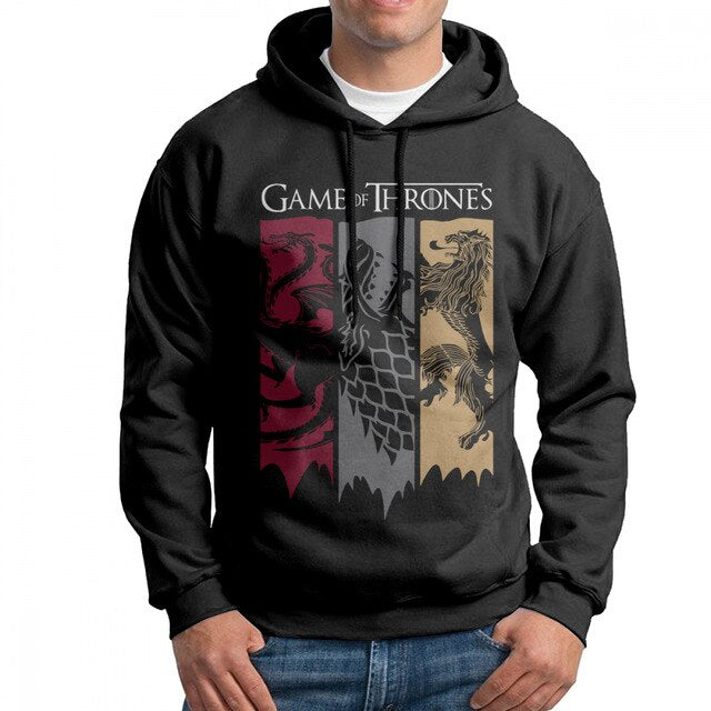Sweat Game of Thrones Grandes Maisons Noir