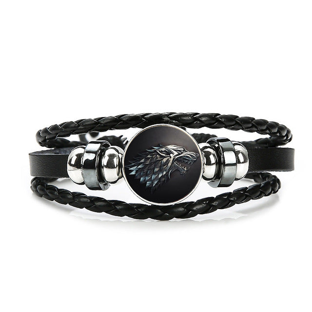 Bracelet Game of Thrones (GOT) Maison Stark