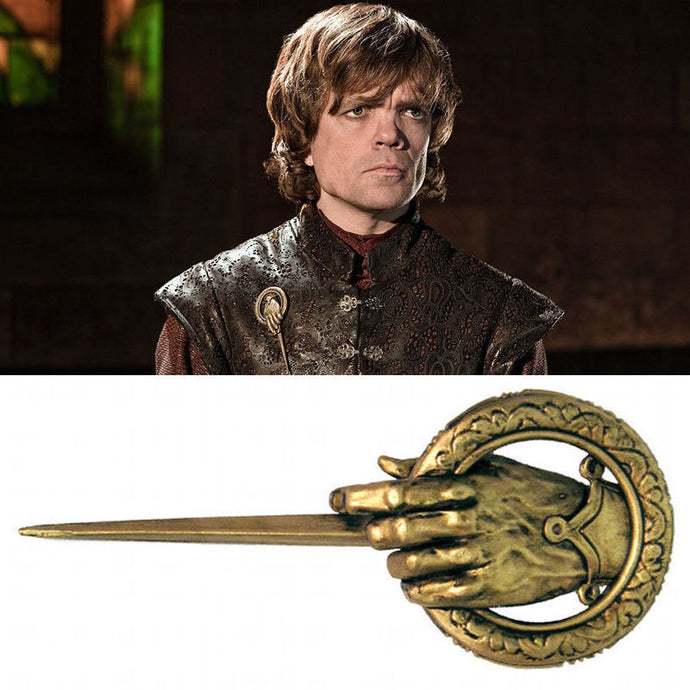 Broche Game of Thrones Main du Roi