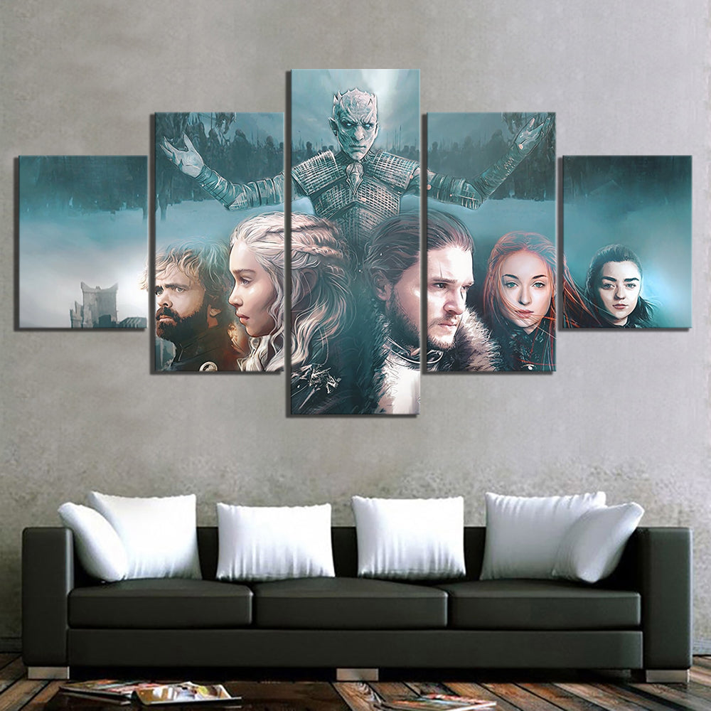 Tableaux Game of Thrones : Roi de la Nuit (Night King)