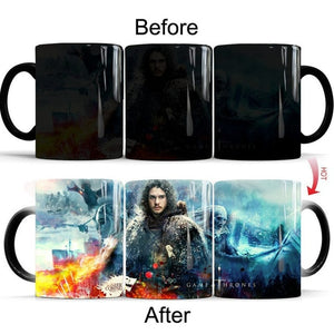 Mug Thermosensible Game of Thrones La Longue Nuit
