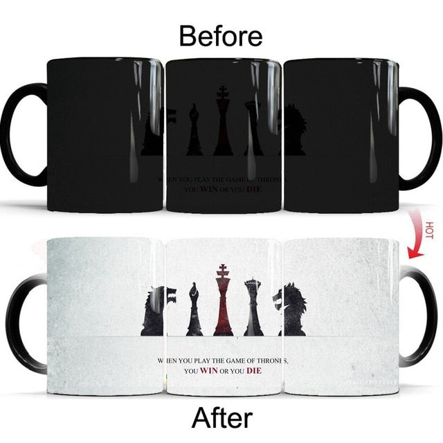 Mug thermosensible Game of Thrones Win Or Die