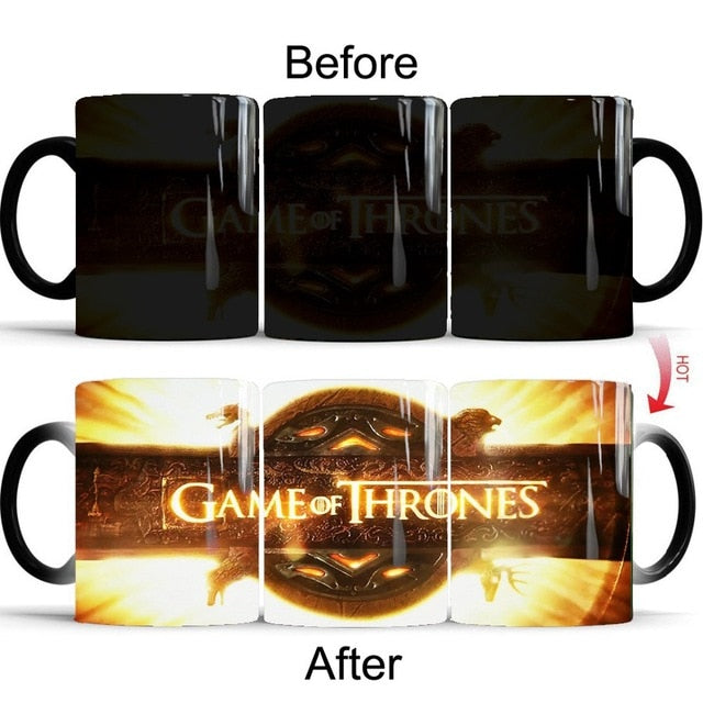 Mug thermosensible Game of Thrones Générique