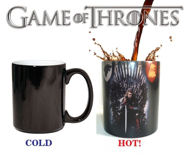 Mug thermosensible Game of Thrones Ned Stark