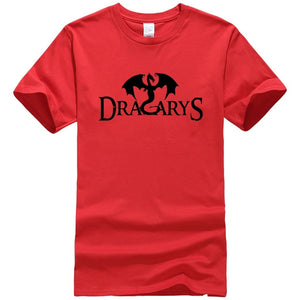 T-Shirt Game of Thrones Dracarys Rouge