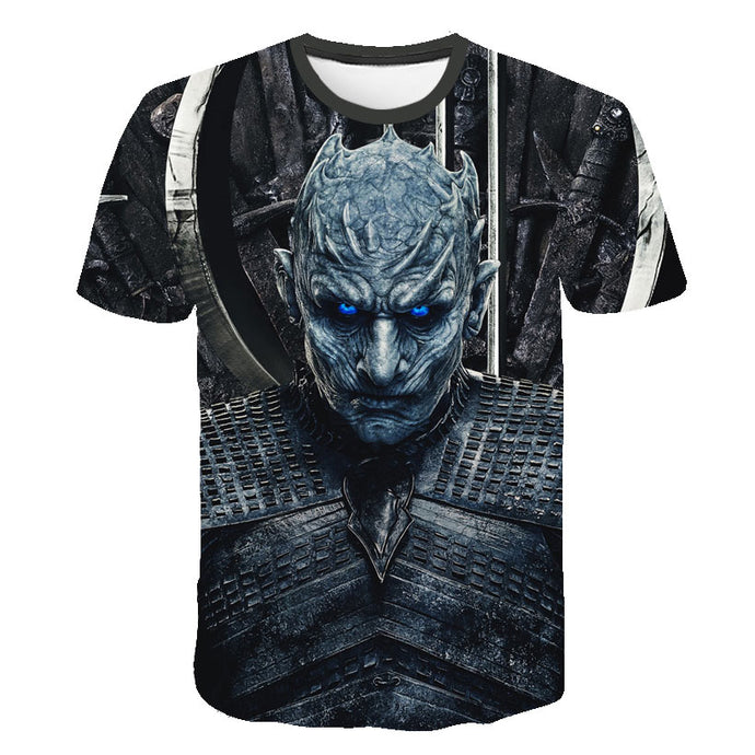 T-Shirt Game of Thrones Roi de la Nuit (Night King)