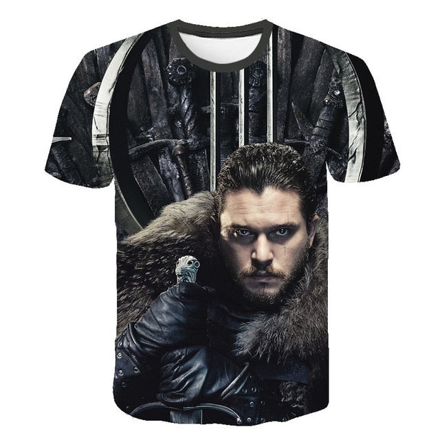 T-Shirt Game of Thrones Jon Snow
