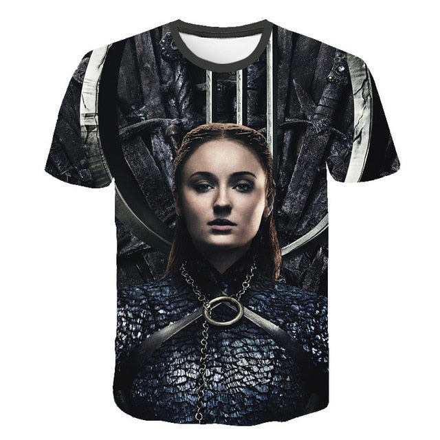 T-Shirt Game of Thrones Sansa Stark