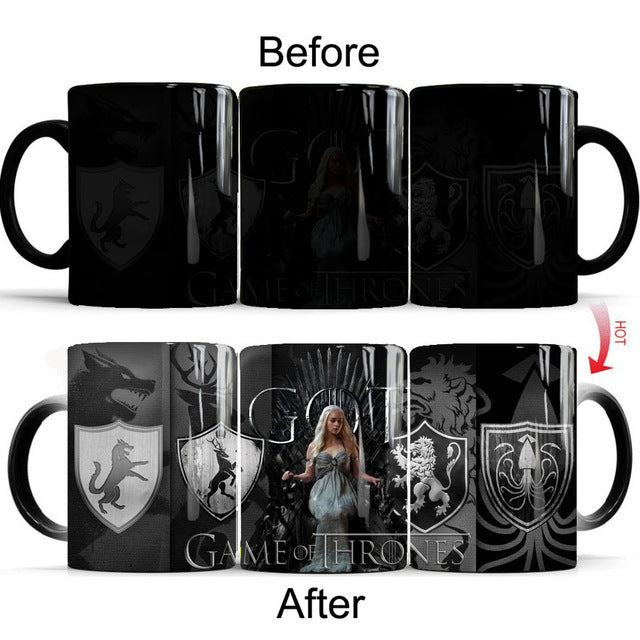 Mug thermosensible Game of Thrones Daenerys Targaryen