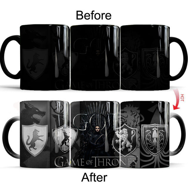 Mug Thermosensible Game of Thrones Arya Stark