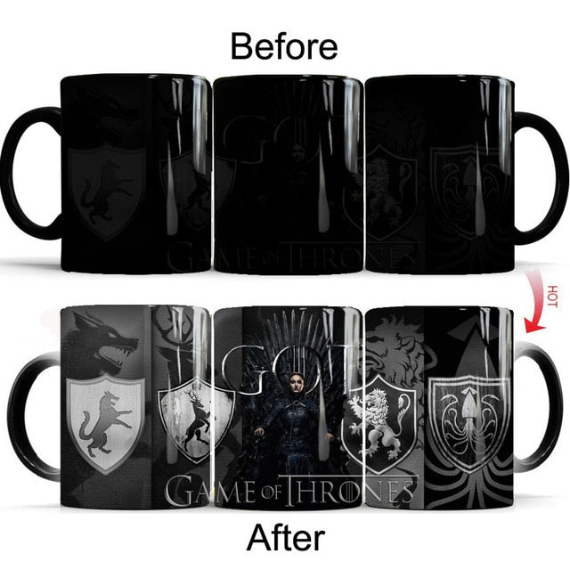 Mug Thermosensible Game of Thrones Sansa Stark