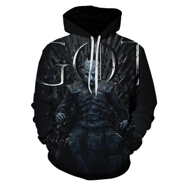 Sweat Game of Thrones Roi de la Nuit (Night King)