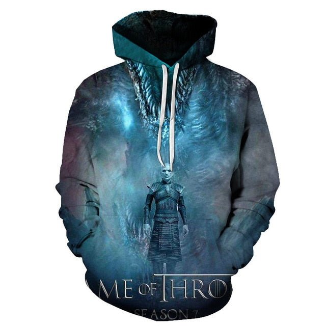 Sweat Game of Thrones Roi de la Nuit & Viserion