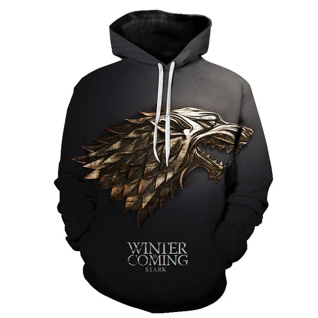 Sweat Game of Thrones Loup Stark