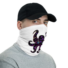 Load image into Gallery viewer, HAUS of NAVI Black Logo Neck gaiter