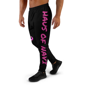 HAUS of NAVI Pink Logo Men's Joggers