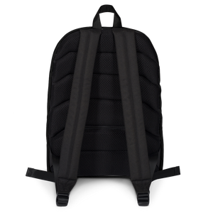 HAUS of NAVI Purple Logo Backpack