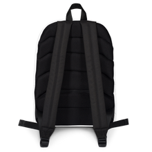 Load image into Gallery viewer, HAUS of NAVI Black Logo Backpack
