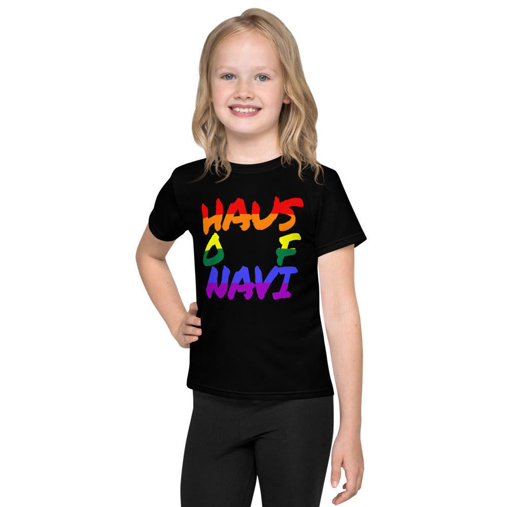 HAUS of NAVI Pride Logo Kids T-Shirt