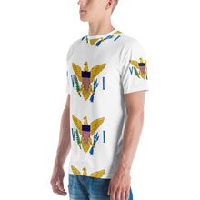 Load image into Gallery viewer, VI Flag Logo Men's T-shirt