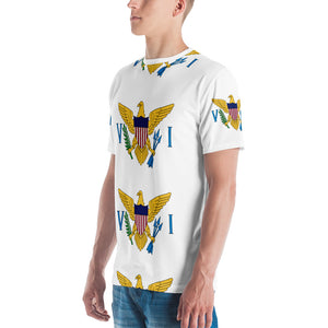 VI Flag Logo Men's T-shirt