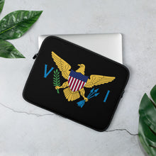 Load image into Gallery viewer, VI Flag Laptop Sleeve