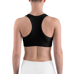 HAUS of NAVI Purple Logo Sports bra