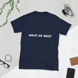 HAUS of NAVI Signature Logo Short-Sleeve Unisex T-Shirt