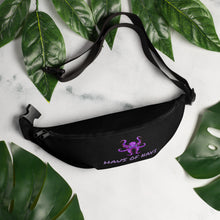 Load image into Gallery viewer, HAUS of NAVI Purple Logo Fanny Pack