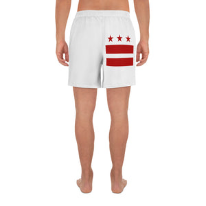 DC Flag Logo Men's Athletic Long Shorts