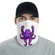 Load image into Gallery viewer, HAUS of NAVI Purple Logo Neck gaiter