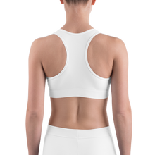 Load image into Gallery viewer, VI Flag Logo Sports Bra