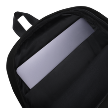 Load image into Gallery viewer, HAUS of NAVI Purple Logo Backpack