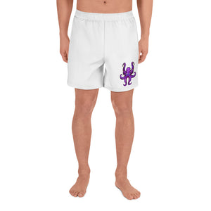 HAUS of NAVI Purple Logo Men's Athletic Long Shorts