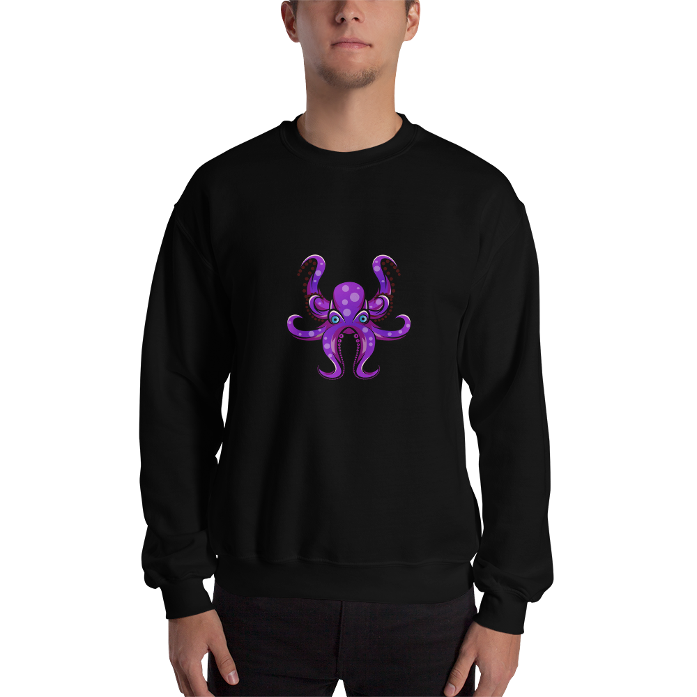 HAUS of NAVI Purple Logo Sweatshirt