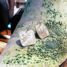 Load image into Gallery viewer, Sterling Silver Engraved Western Earring Design EAR00005 by Loreena Rose
