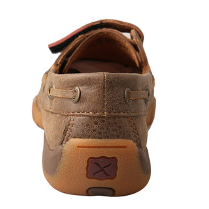 Picture of inside of Kid's Twisted X Boat Shoe Driving Moc CDM0003