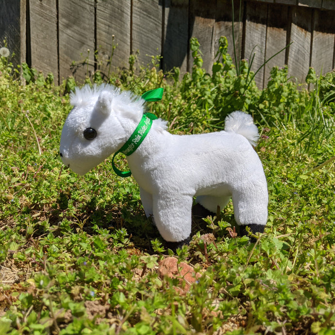 Sidewinder Plush Toy Horse Character from the book series The Adventures of Cowboy Cinch & Wrangler Rein