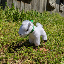 Load image into Gallery viewer, Sidewinder Plush Toy Horse Character from the book series The Adventures of Cowboy Cinch & Wrangler Rein