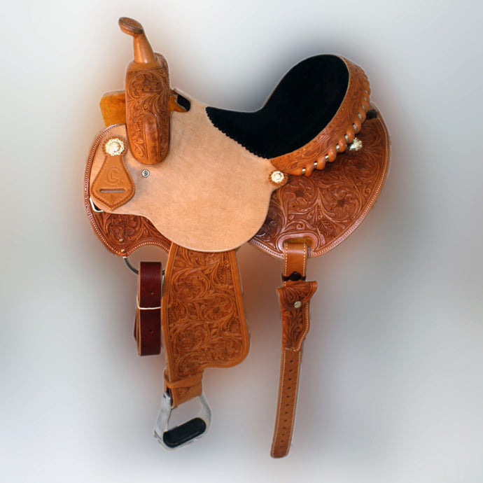 Side picture of C&L Barrel Saddle CLS00002