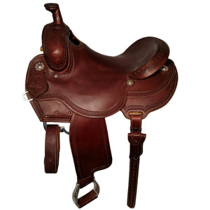 Side picture of C&L Trail Saddle CLS00006